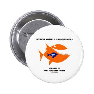 Pescados de Turducken del mundo de las fusiones y  Pins