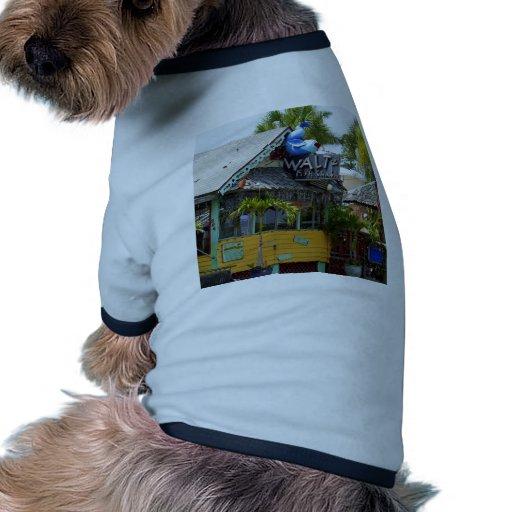 Pescados de vals Shak Camiseta De Perrito