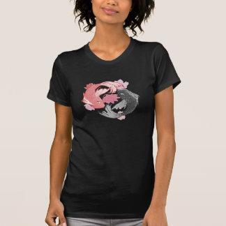 Pescados de Yin Yang Koi Camiseta