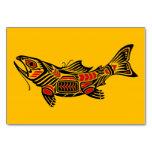 Pescados del alcohol del Haida en amarillo