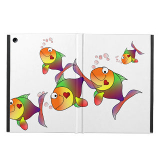 Pescados del amor del arco iris