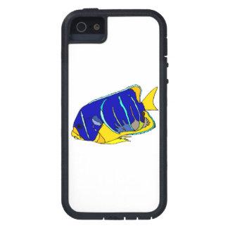 Pescados del ángel azul iPhone 5 Case-Mate cobertura