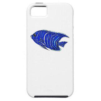 Pescados del ángel azul iPhone 5 coberturas