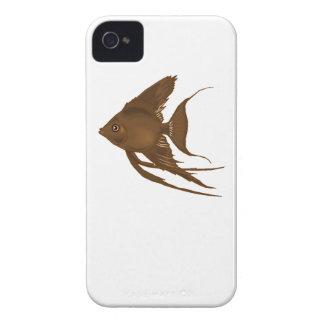 Pescados del ángel de Brown Case-Mate iPhone 4 Coberturas