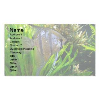 Pescados del ángel tarjeta personal
