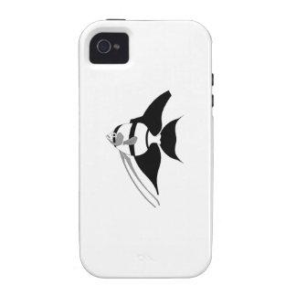 Pescados del ángel vibe iPhone 4 fundas