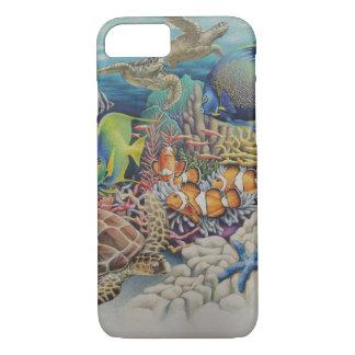 Pescados del arrecife de coral en sinfonía funda iPhone 7