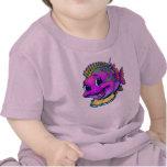 Pescados del bebé camiseta