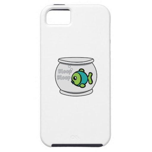 Pescados del Bloop del Bloop iPhone 5 Case-Mate Protectores