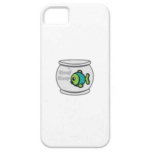 Pescados del Bloop del Bloop iPhone 5 Case-Mate Cárcasa