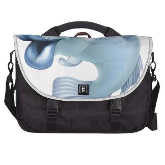 Pescados del dibujo animado bolsas de portátil
