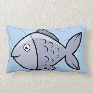 Pescados del dibujo animado de la diversión cojin