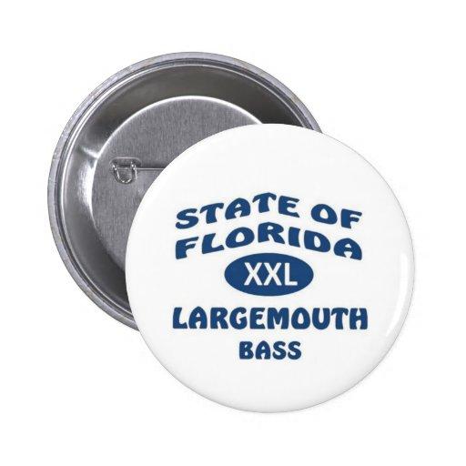 Pescados del estado de la Florida Pin Redondo 5 Cm