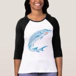 Pescados del esturión retros camisetas