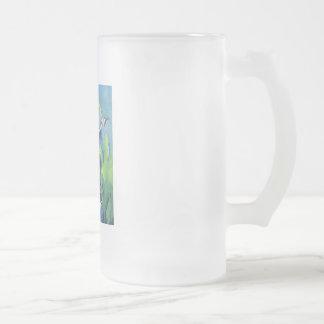 Pescados del esturión tazas de café