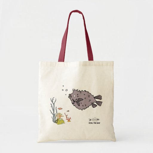 pescados del fumador bolsas lienzo