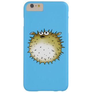 pescados del fumador del dibujo animado funda barely there iPhone 6 plus