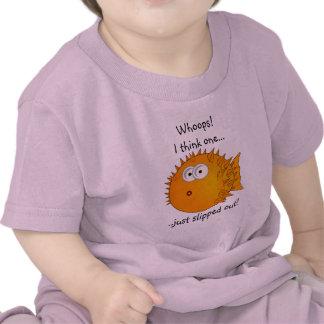 Pescados del fumador - refranes divertidos camiseta