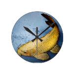 Pescados del koi de Japón Reloj