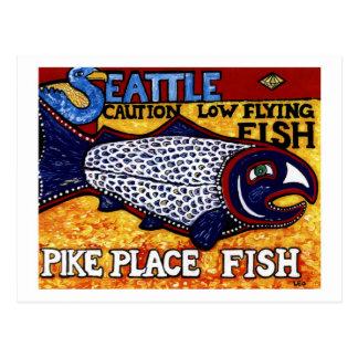 Pescados del lugar de Pike Postales