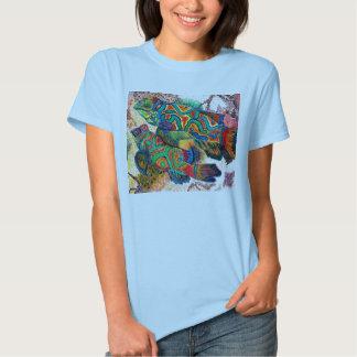 Pescados del mandarín camisas