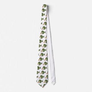 Pescados del matón corbata personalizada