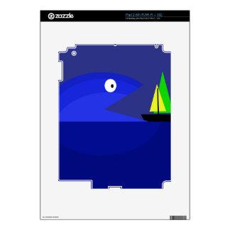 Pescados del monstruo iPad 2 skins