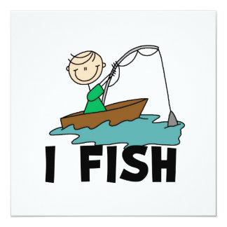 Pescados del muchacho I Invitaciones Personalizada