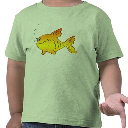 Pescados del oro del *Big Camiseta