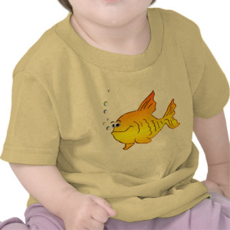 Pescados del oro del *Big Camisetas