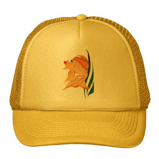 Pescados del oro del *Fancy Gorra