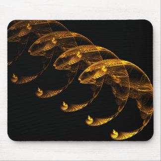 Pescados del oro alfombrillas de raton