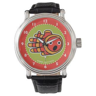 Pescados del payaso de Clownfish Relojes