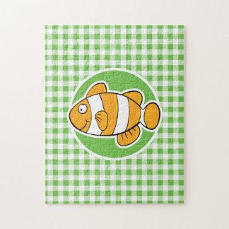 Pescados del payaso; Guinga verde Puzzles