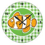 Pescados del payaso; Guinga verde Reloj
