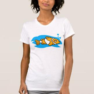Pescados del payaso remera