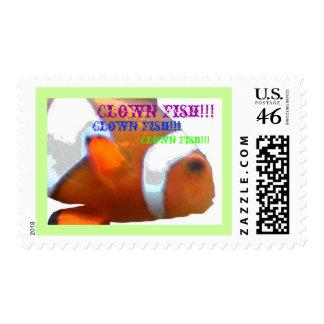 ¡Pescados del payaso!!! sellos