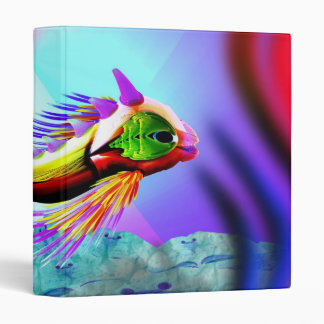 Pescados del resplandor del arco iris - carpeta