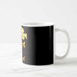 pescados del resplandor taza de café