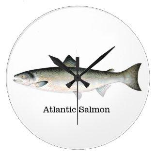 Pescados del salmón atlántico relojes