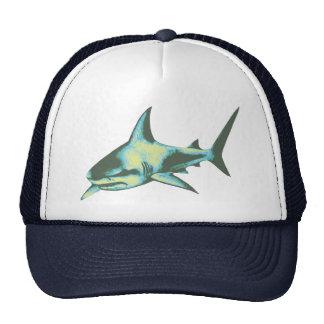 pescados del tiburón, animales salvajes gorros