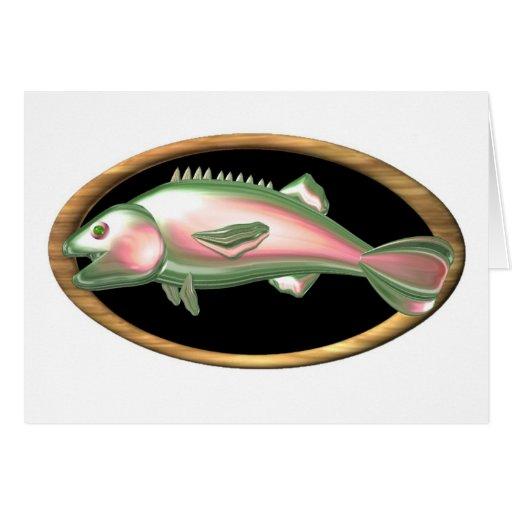 Pescados del zodiaco de Piscis Tarjeta De Felicitación