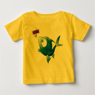 Pescados divertidos de la pesca tee shirt