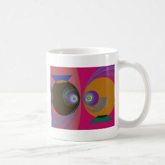 Pescados divertidos taza de café