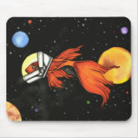 ¡Pescados en espacio! Mousepad Alfombrilla De Raton