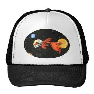 Pescados en gorra del espacio