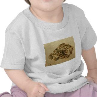 pescados en placa camiseta