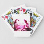 pescados en rosa barajas de cartas
