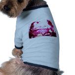 pescados en rosa camisetas de perro