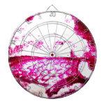 pescados en rosa tablero dardos